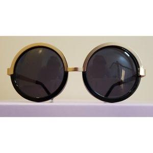 Le Specs Circle Sunglasses